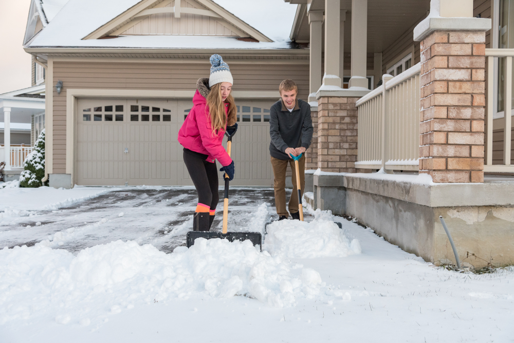 What's Better in the Winter? Asphalt or concrete driveway